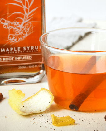 Maple Ginger Hot Toddy by Runamok Maple