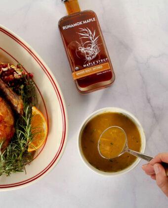 Duck with Orange Maple Sauce by Runamok Maple
