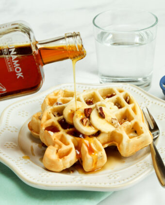 Banana Rum Infused Maple Syrup