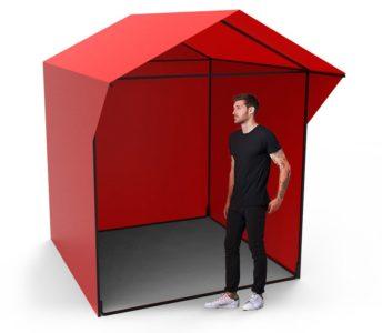 Купить палатку 2x2 из тента