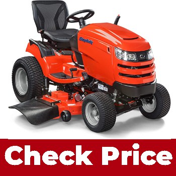 Simplicity 2691339 (Best riding lawn mower for hilly terrain)