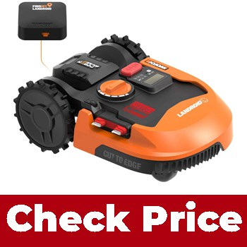Worx WR153 Landroid L 20V Power Share Robotic Lawn Mower with GPS