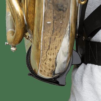 Der Haltegurt Max vom Tuba Haltergurt Max in Position