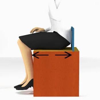 dimensioni medie di un sedile su misura in base alla statura
