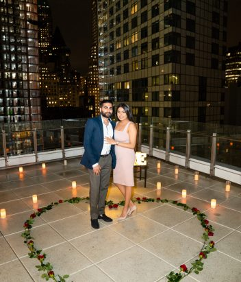 Photo 11 Antique Car + Private Rooftop Proposal | Dare to Dream