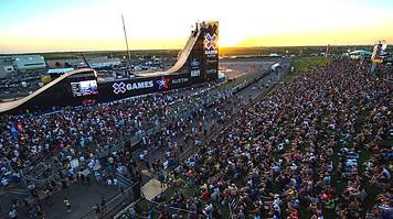 Big Air Ramp at X Games