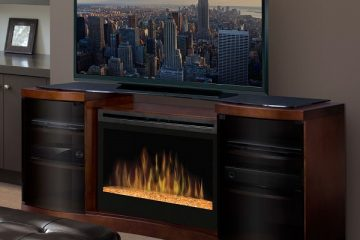 Best Electric Fireplace TV Stand - Featured