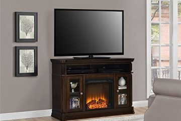 Ameriwood Brooklyn Electric Fireplace TV Console Review