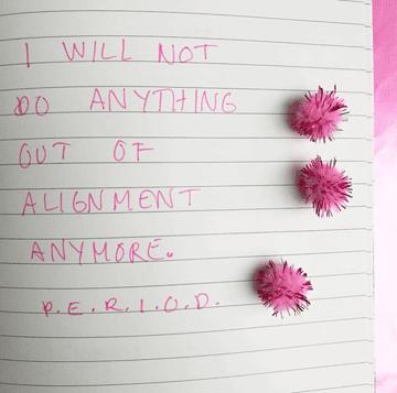 alignment journaling
