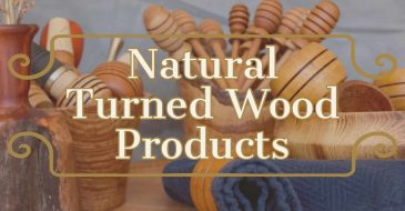 Natural tired wood products for home and kitchen