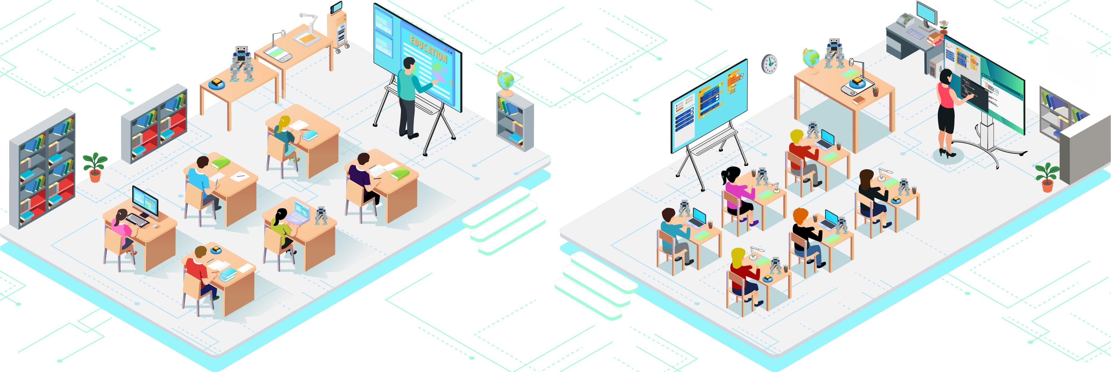digitaliser l'école numérique