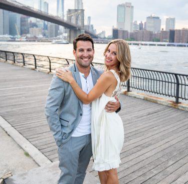 Photo 17 Leap Day intimate wedding ceremony by the Manhattan Bridge