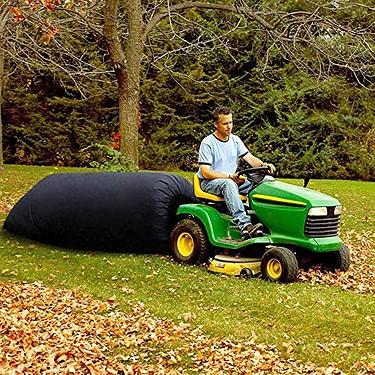 best lawn tractor leaf bag