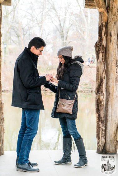 Photo 2 Wagner Cove Surprise Proposal in Central Park | VladLeto