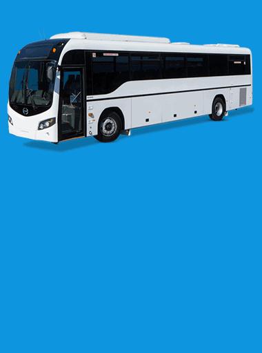 shok leyland ac non ac bus