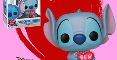 Funko Pop stitch San valentin