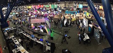 Microsoft Tech Ed Convention Floor