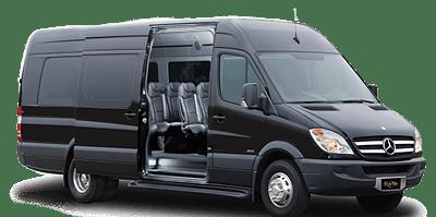 Image of a luxury van