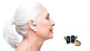 wearing hearing aid