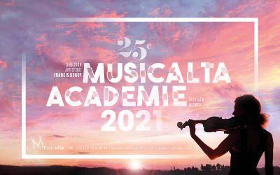 Les inscriptions pour l'académie Musicalta 2021 sont ouvertes !