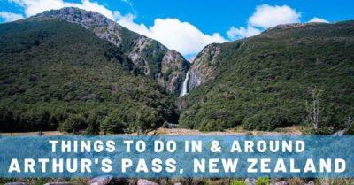 Arthur's Pass & Devils Punchbowl Waterfall