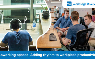 Coworking spaces: Adding rhythm to workplace productivity