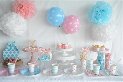 Cute as Button Party @ little lemonade