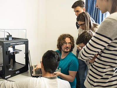 Produrre un monumento tattile con stampante 3D