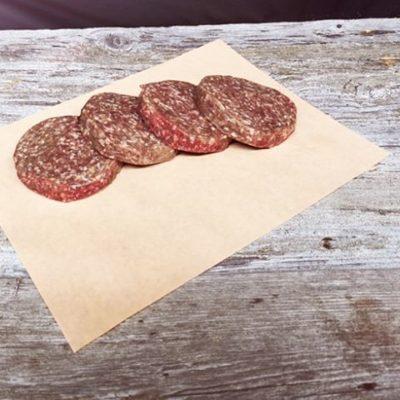 Galettes de bœuf haché maigre