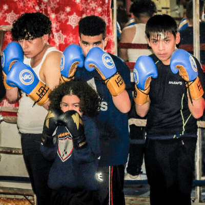 Boxing Gloves Donation | Limitless Golden Mission