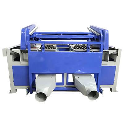 double slot pallet stringer notching machine