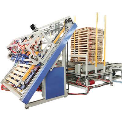 pallet nailing machine