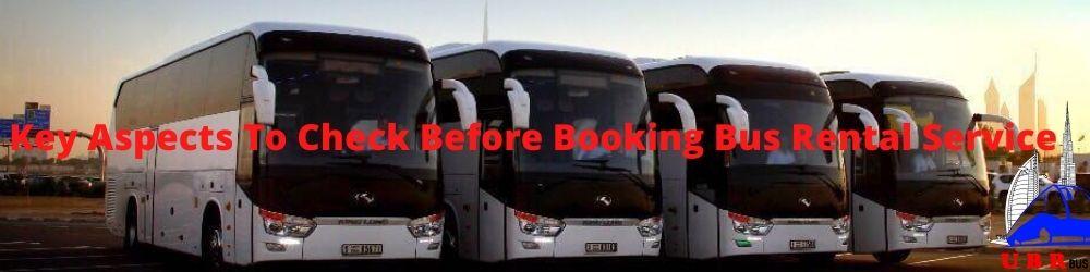 Booking Bus Rental Service