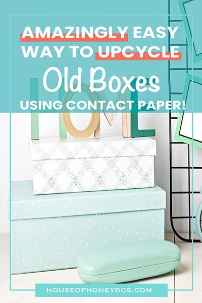 pinnable image - covering boxes with contact paper