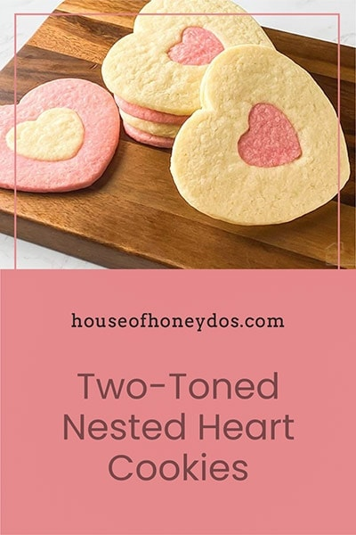 cookies on a wooden block