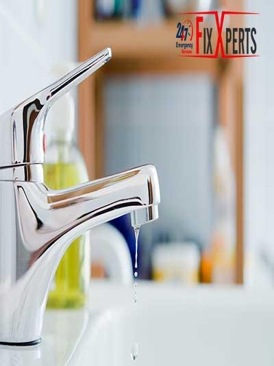 Leaking taps