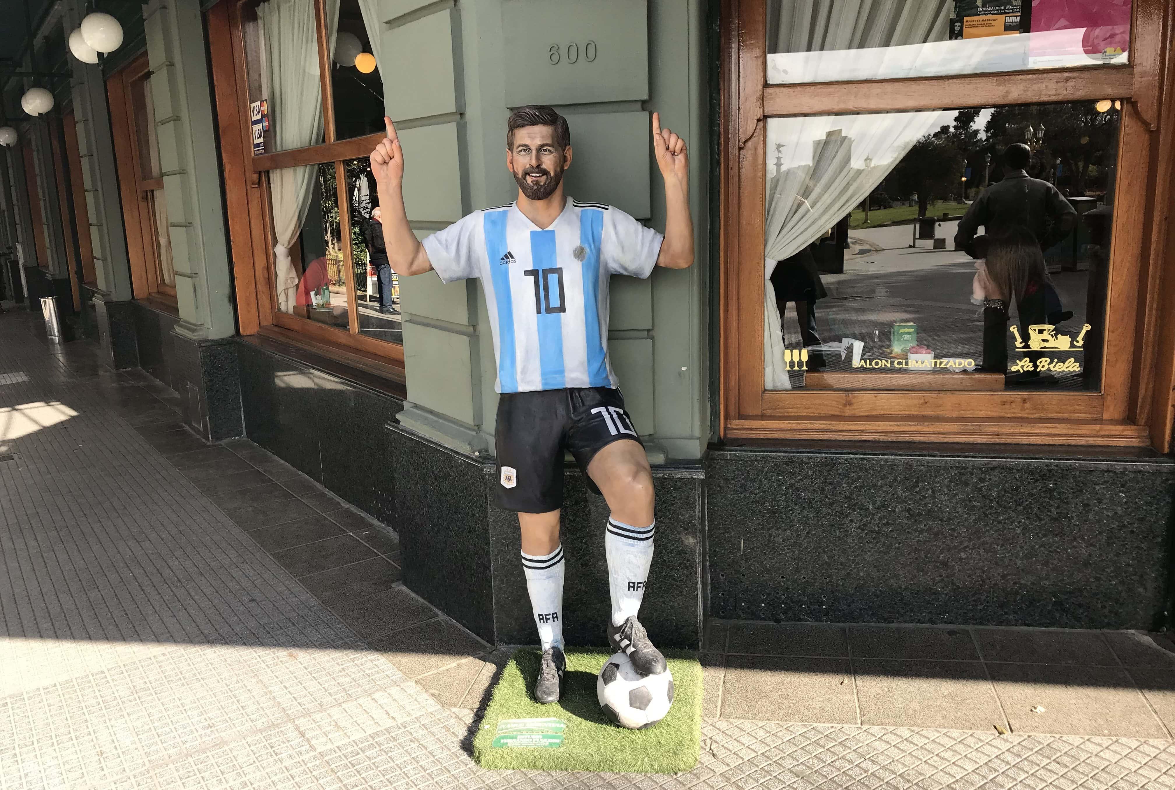 Leo Messi La Biela Buenos Aires Argentina