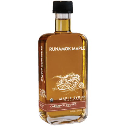 Cardamom Infused Maple Syrup by Runamok Maple