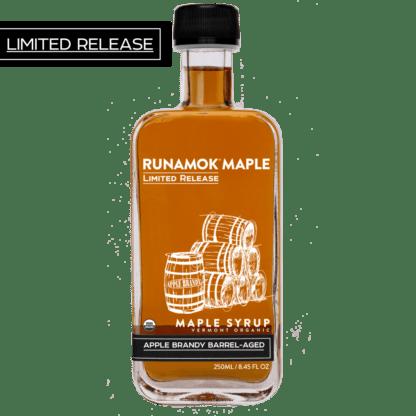 Apple Brandy Barrel Aged Maple Syrup by Runamok