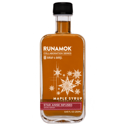 Star Anise Infused Maple Syrup by Runamok Maple