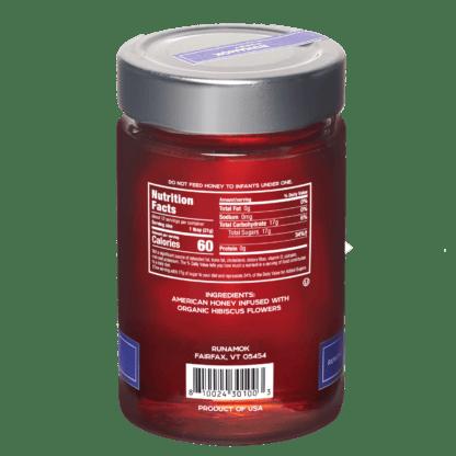 Hibiscus Flower Infused Honey by Runamok 2