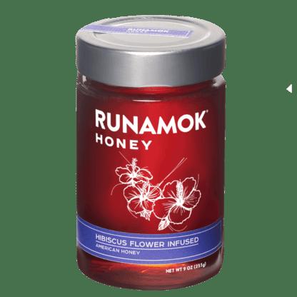 Hibiscus Flower Infused Honey by Runamok