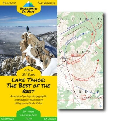 tahoe ski touring - the best of the rest