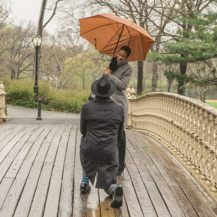 Rainy day proposal in NYC. Where to propose if it's raining?