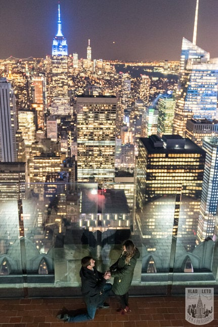 Photo 12 Top of the Rock Marriage Proposal 2