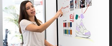 écran interactif fluide et léger présentations performantes