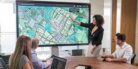 écrans interactifs professionnel Clevertouch : les points forts
