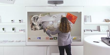 vidéoprojecteur interactif pour la formation scolaire