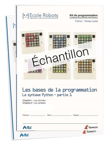 manuel scolaire de programmation en Python au lycée