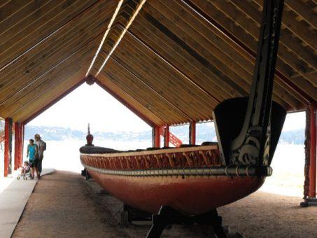 Waka at Waitangi Treaty Grounds